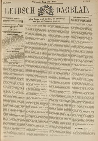 Leidsch Dagblad 1893-06-28