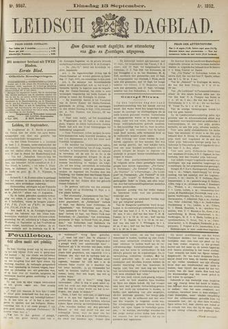 Leidsch Dagblad 1892-09-13