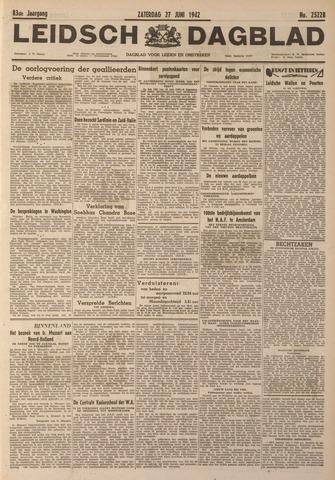 Leidsch Dagblad 1942-06-27