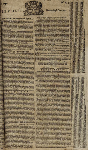 Leydse Courant 1752-11-08
