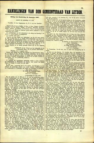 Handelingen van de Raad 1867-08-15