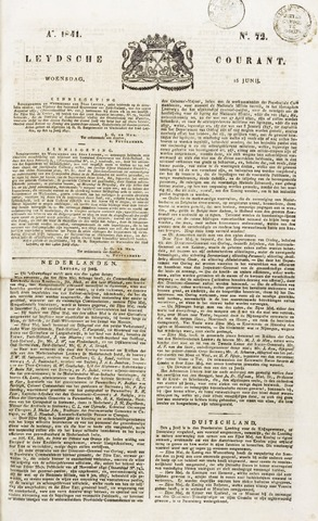 Leydse Courant 1841-06-16