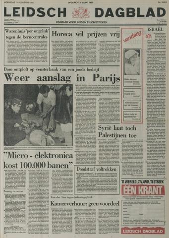 Leidsch Dagblad 1982-08-11
