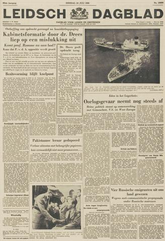 Leidsch Dagblad 1956-07-24