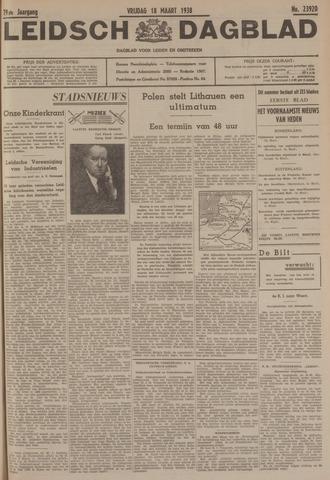 Leidsch Dagblad 1938-03-18