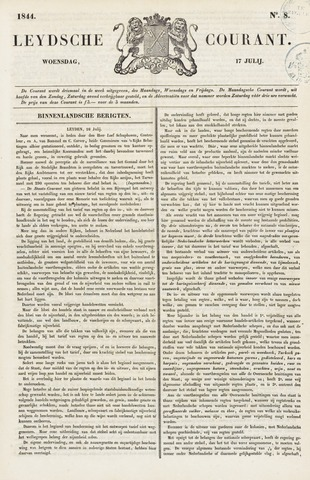 Leydse Courant 1844-07-17