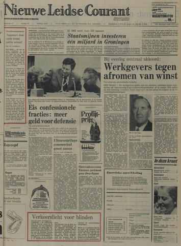 Nieuwe Leidsche Courant 1974-09-25