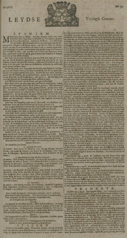 Leydse Courant 1727-04-25