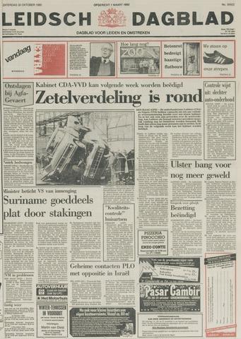Leidsch Dagblad 1982-10-30