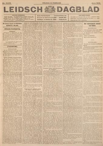 Leidsch Dagblad 1926-02-05