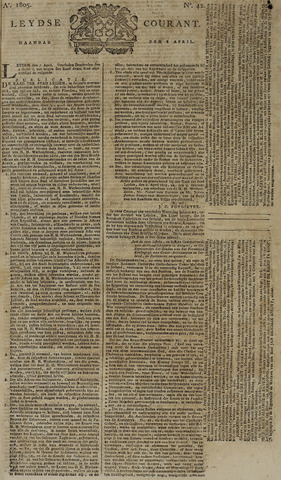 Leydse Courant 1805-04-08