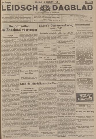 Leidsch Dagblad 1940-11-18