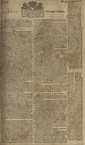Leydse Courant 1765-05-03