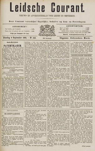 Leydse Courant 1885-09-08