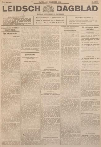 Leidsch Dagblad 1930-11-01