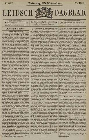 Leidsch Dagblad 1882-11-25