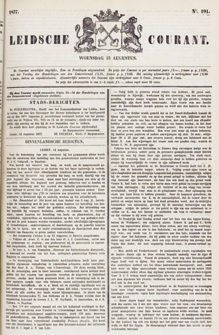Leydse Courant 1877-08-15
