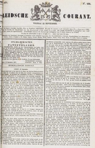 Leydse Courant 1871-09-22