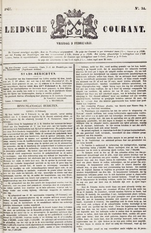 Leydse Courant 1877-02-09