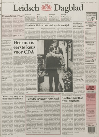 Leidsch Dagblad 1994-08-17
