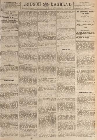 Leidsch Dagblad 1921-04-27