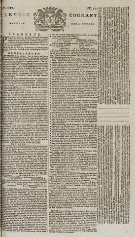 Leydse Courant 1790-10-11
