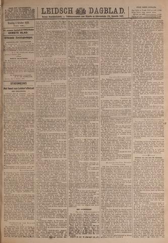 Leidsch Dagblad 1920-10-05