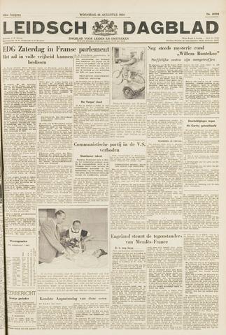 Leidsch Dagblad 1954-08-25