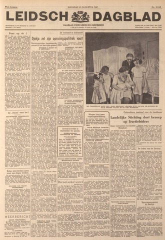 Leidsch Dagblad 1947-08-25