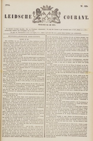 Leydse Courant 1884-05-28