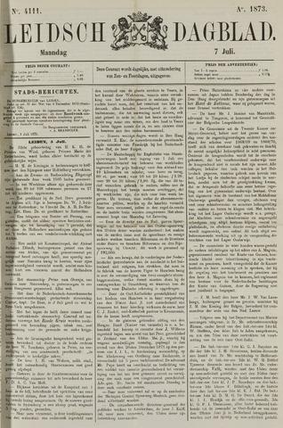 Leidsch Dagblad 1873-07-07