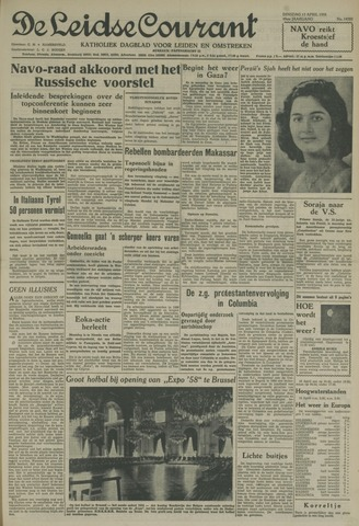 Leidse Courant 1958-04-15