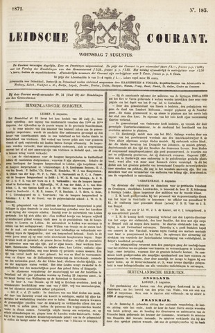 Leydse Courant 1872-08-07