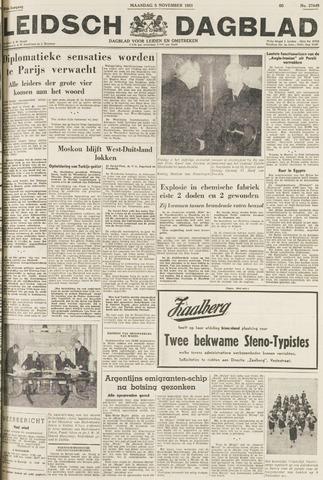 Leidsch Dagblad 1951-11-05