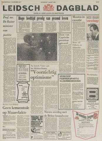 Leidsch Dagblad 1977-12-15