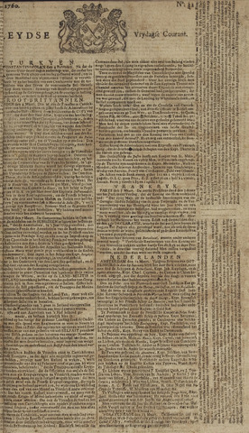 Leydse Courant 1760-03-14