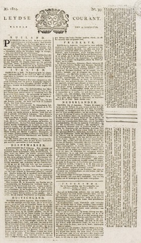 Leydse Courant 1814-08-19