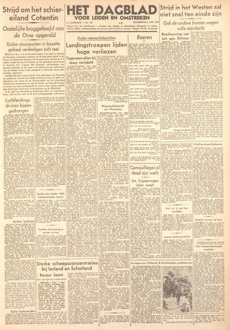 Dagblad voor Leiden en Omstreken 1944-06-08