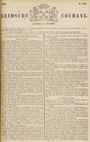 Leydse Courant 1883-10-27