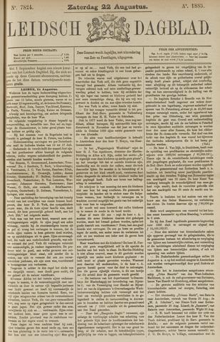 Leidsch Dagblad 1885-08-22