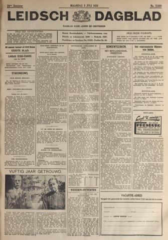Leidsch Dagblad 1933-07-03