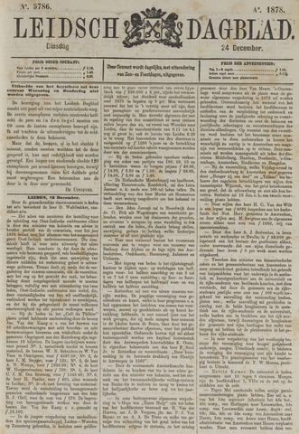 Leidsch Dagblad 1878-12-24
