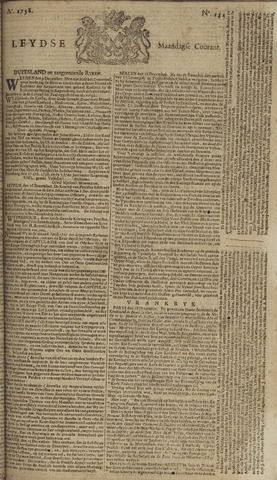 Leydse Courant 1758-12-25