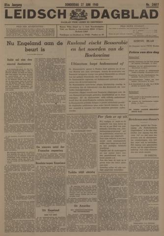 Leidsch Dagblad 1940-06-27