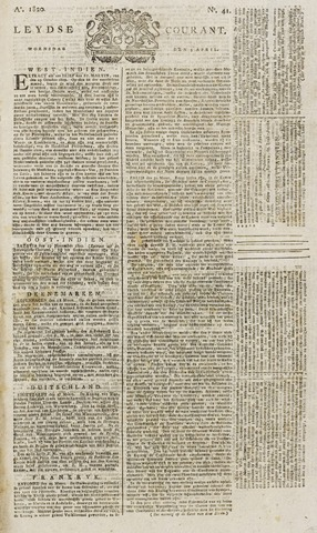 Leydse Courant 1820-04-05