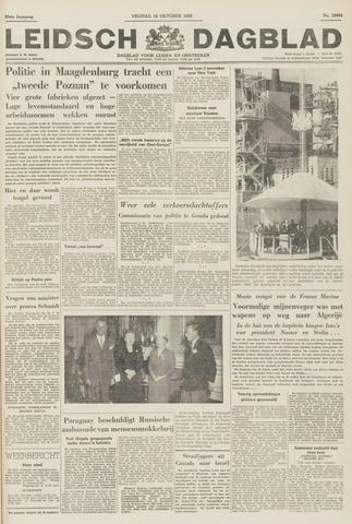 Leidsch Dagblad 1956-10-19