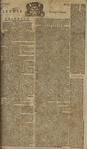 Leydse Courant 1753-05-25
