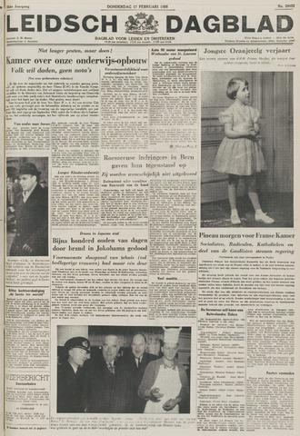 Leidsch Dagblad 1955-02-17