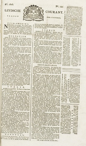 Leydse Courant 1826-10-06