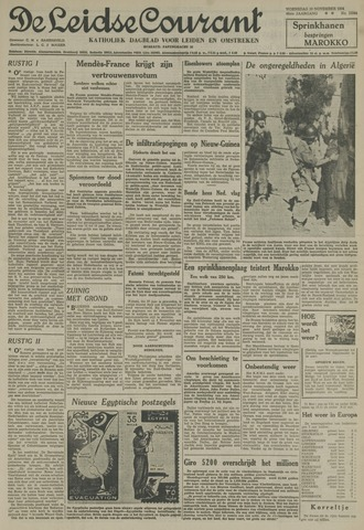 Leidse Courant 1954-11-10